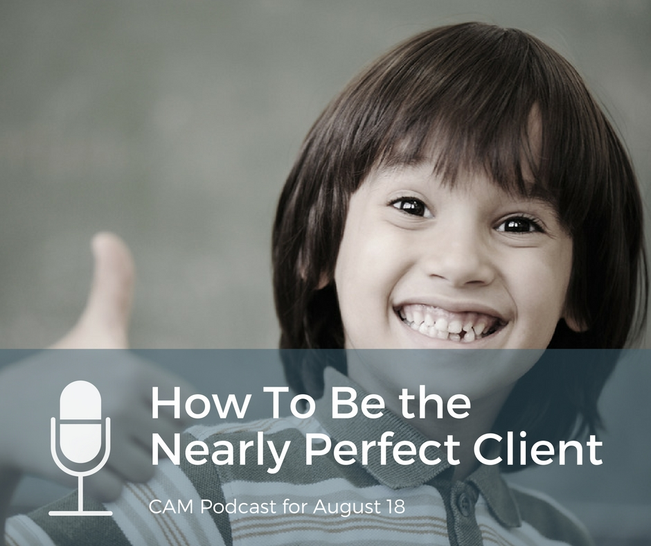 Podcast How to be the nearly perfect client